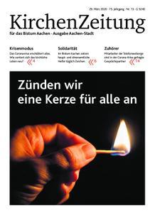 KirchenZeitung für das Bistum Aachen – 29. März 2020