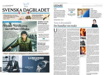 Svenska Dagbladet – 19 november 2017