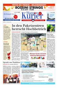 Warnow Kurier - 22. Dezember 2018