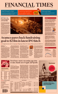 Financial Times Europe – 18 November 2019
