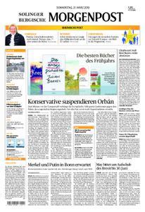 Solinger Morgenpost – 21. März 2019