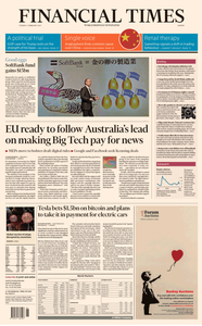 Financial Times Europe - February 09, 2021