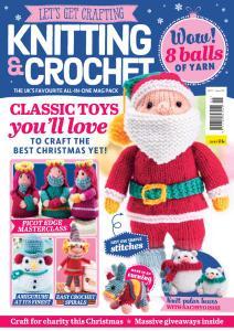 Let's Get Crafting Knitting & Crochet - Issue 105 - September 2018