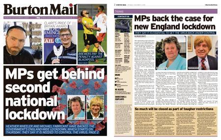 Burton Mail – November 02, 2020