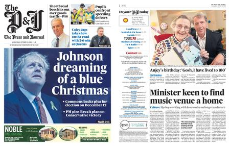 The Press and Journal Moray – October 30, 2019