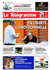 Le Télégramme Ouest Cornouaille – 11 mai 2020