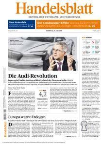 Handelsblatt - 19. Juli 2016