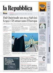 la Repubblica - 5 Maggio 2018