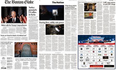 The Boston Globe – October 10, 2019