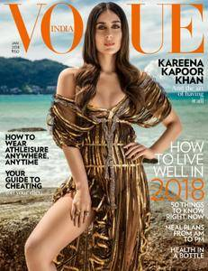 Vogue India - January 2018