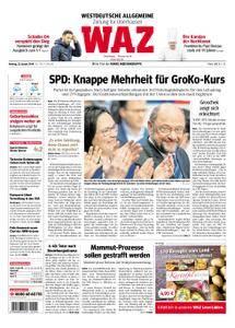 WAZ Westdeutsche Allgemeine Zeitung Oberhausen-Sterkrade - 22. Januar 2018