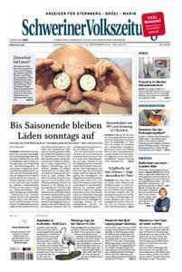 Schweriner Volkszeitung Anzeiger für Sternberg-Brüel-Warin - 01. September 2018