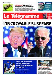 Le Télégramme Quimper – 05 novembre 2020