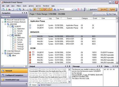 Network Event Viewer ver. 6.0.0.42