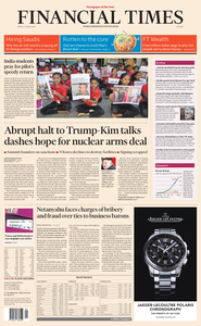 Financial Times Europe – 1 March 2019
