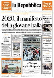 la Repubblica - 2 Gennaio 2020