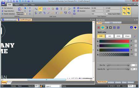 EximiousSoft Business Card Designer Pro 3.21 Portable