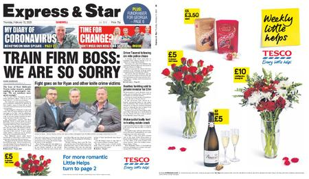 Express and Star Sandwell Edition – February 13, 2020
