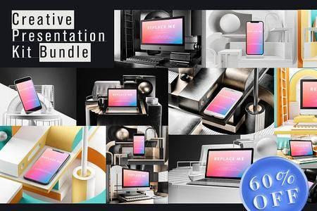 CreativeMarket - Creative Presentation Kit Bundle