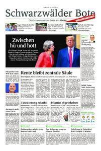 Schwarzwälder Bote Blumberg - 14. Juli 2018
