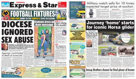 Express and Star Sandwell Edition – June 21, 2019