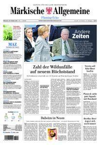 Märkische Allgemeine Fläming Echo - 25. Oktober 2017