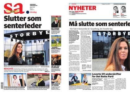Sarpsborg Arbeiderblad – 26. mars 2019