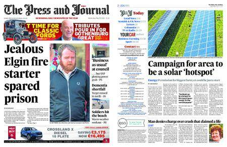 The Press and Journal Moray – May 30, 2018