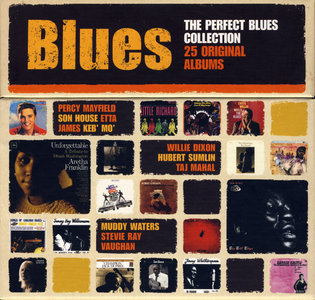 VA - The Perfect Blues Collection: 25 Original Albums (2011) 25 CD Box Set [Re-Up]