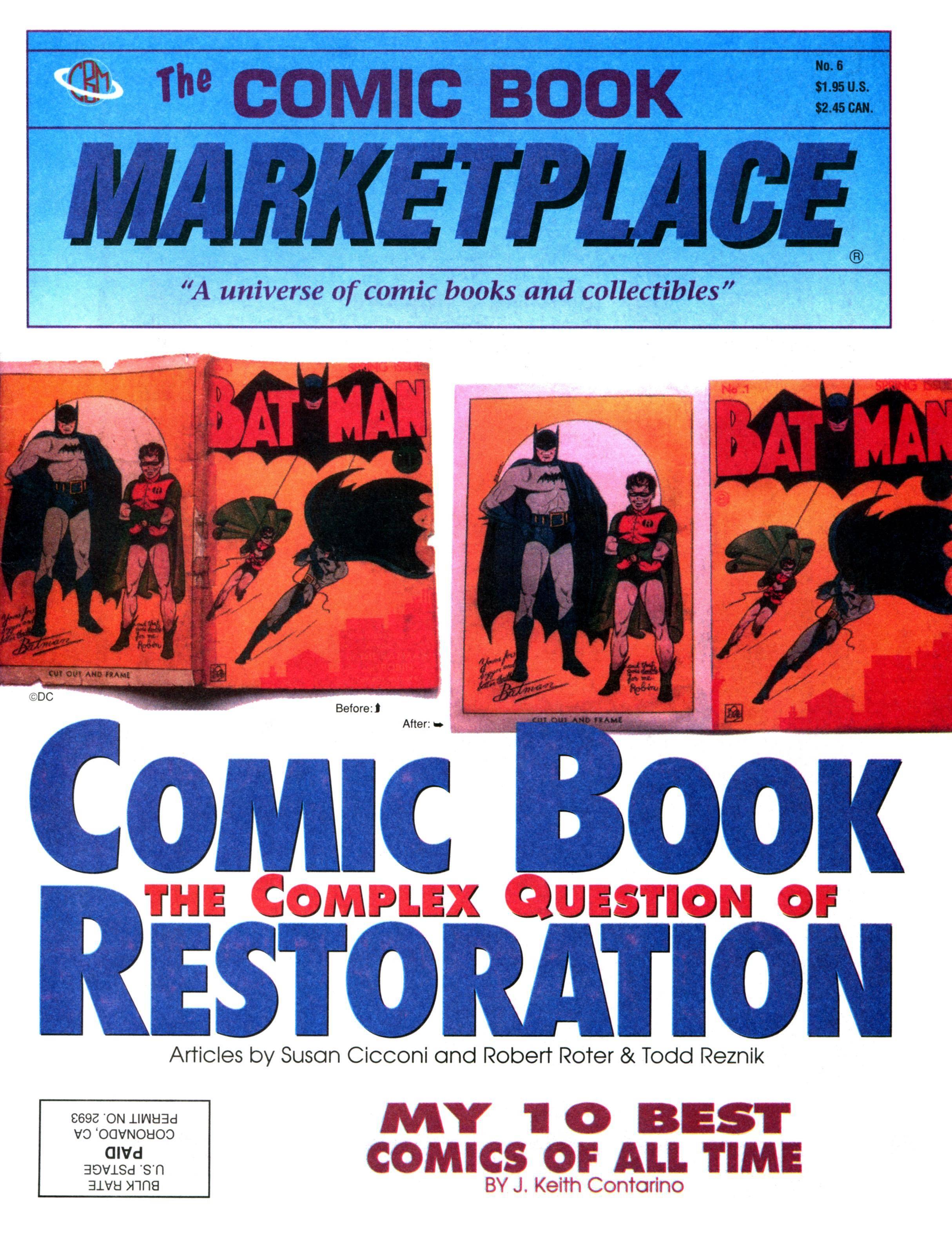 Comic Book Marketplace 006 1991