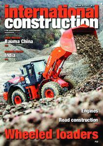 International Construction – October 2018