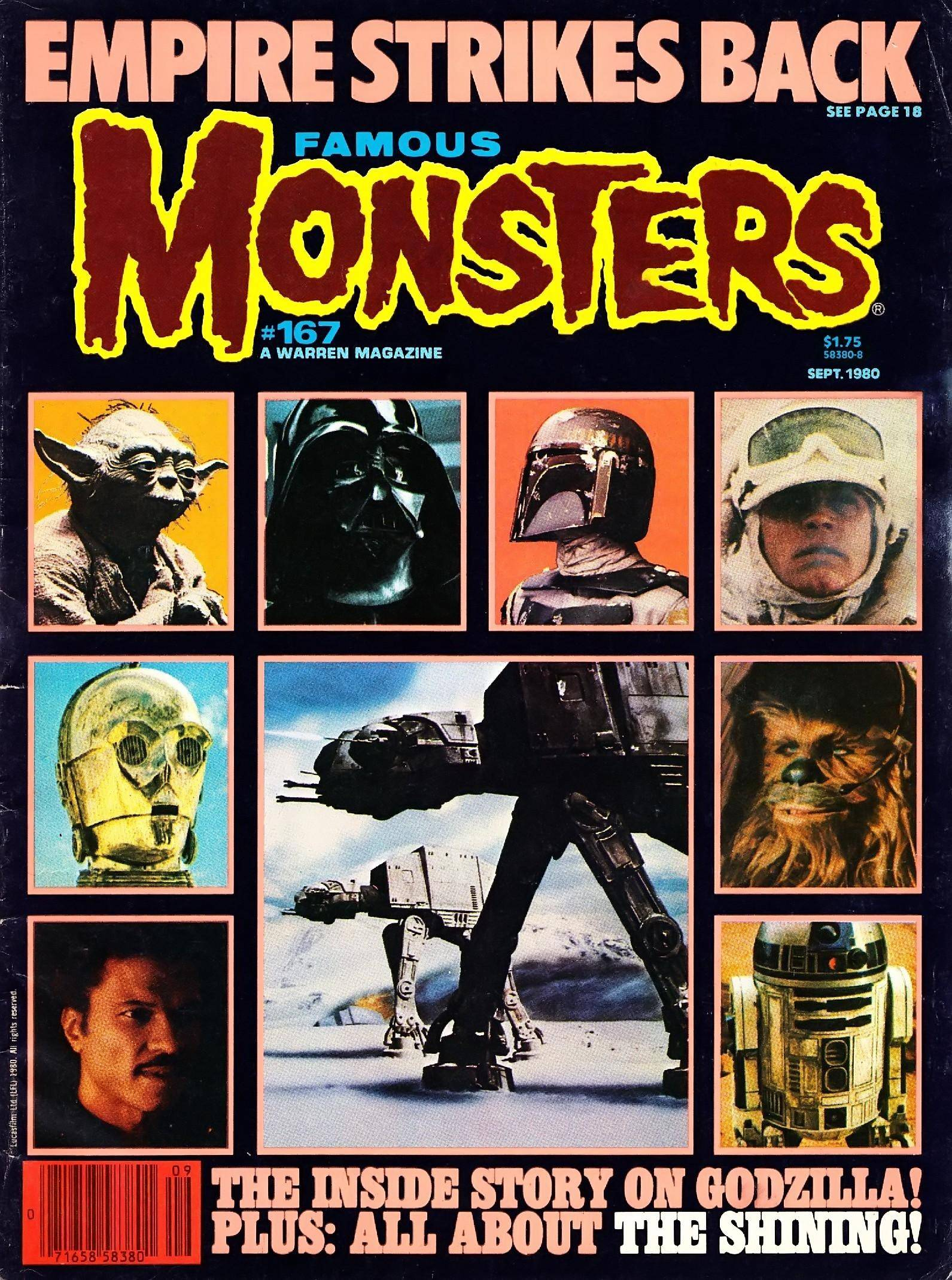 Famous Monsters of Filmland 167 1980