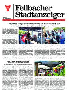Fellbacher Stadtanzeiger - 25. September 2019