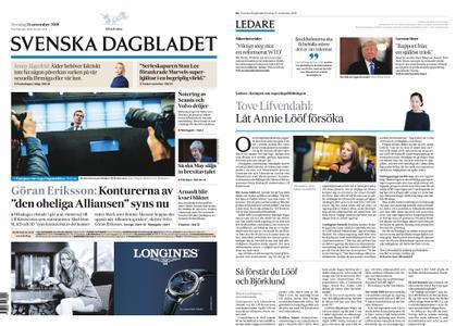Svenska Dagbladet – 15 november 2018