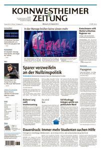 Kornwestheimer Zeitung - 24. Oktober 2018