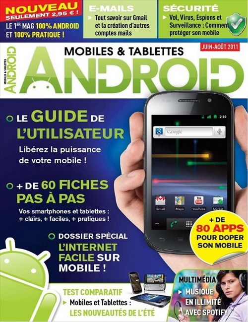 Android Mobiles & Tablettes No.9 - Juin/Juillet/Aout 2011