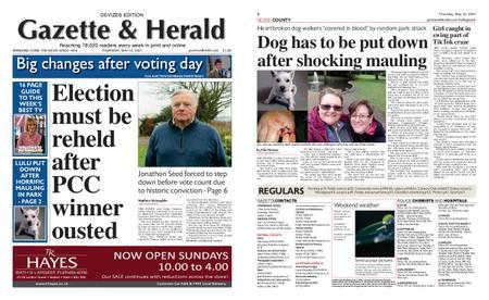Gazette & Herald – May 13, 2021