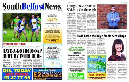 South Belfast News – September 07, 2017