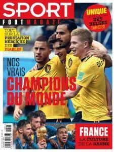 Sport Foot Magazine - 18 Juillet 2018