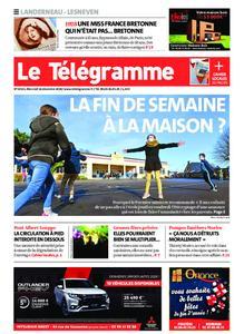 Le Télégramme Landerneau - Lesneven – 16 décembre 2020