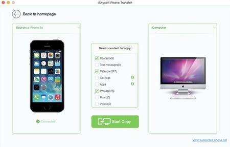 iSkysoft Phone Transfer for Mac 1.5.2 Multilangual Mac OS X