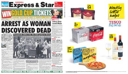 Express and Star Sandwell Edition – March 07, 2019