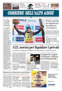 Corriere dell'Alto Adige – 19 febbraio 2020
