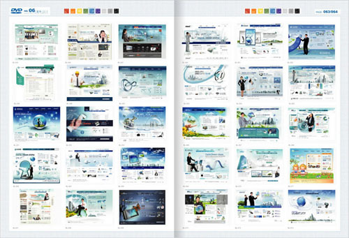 Web Design Master PSD Sources Collection (DVD 6)