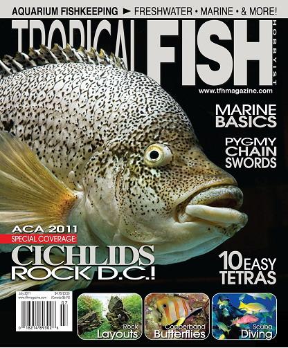 Tropical Fish Hobbyist Magazine July 2011