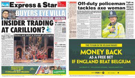 Express and Star Sandwell Edition – June 28, 2018
