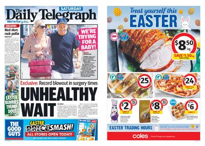 The Daily Telegraph (Sydney) – April 20, 2019