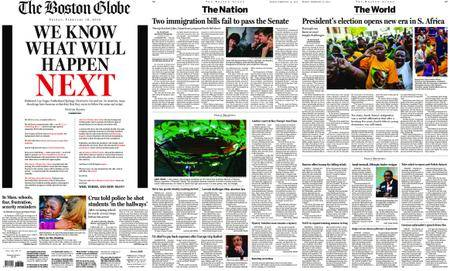 The Boston Globe – February 16, 2018
