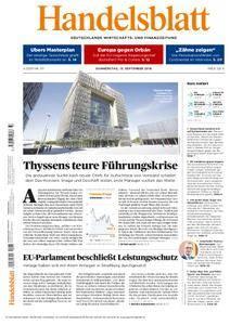 Handelsblatt - 13. September 2018
