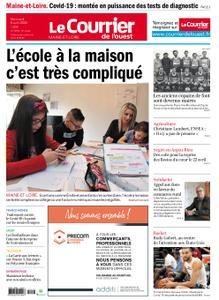 Le Courrier de l'Ouest Angers – 08 avril 2020